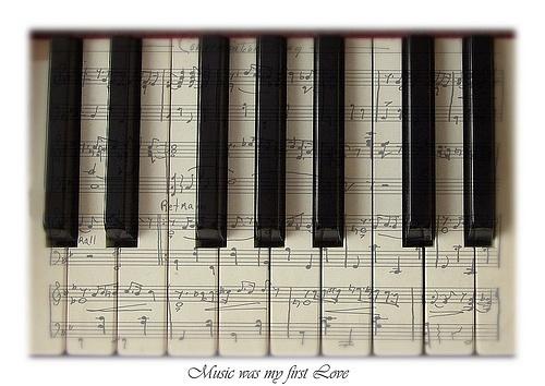 认识钢琴谱