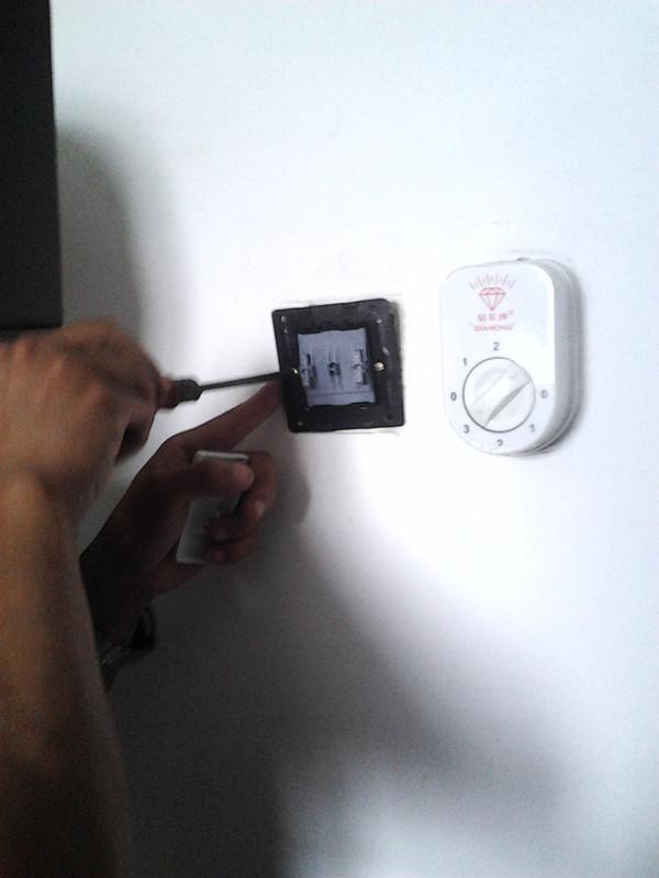 电扇自动开关电路图