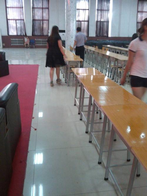 后勤处为2014年河北省考试卷分析会暨考试情况报告会做相应准备